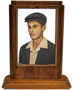 Boy with beret