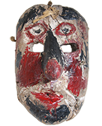 Antique Mexican Mask used in Ceremonial Dance